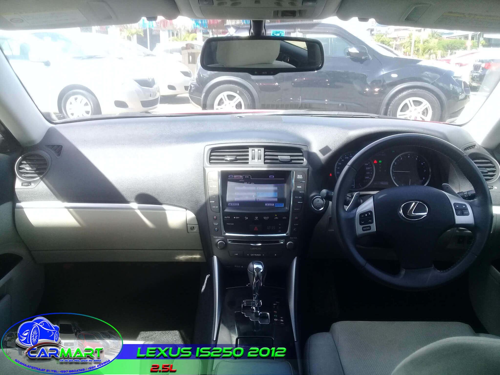 LEXUS IS250 2012 – Carmart Suriname