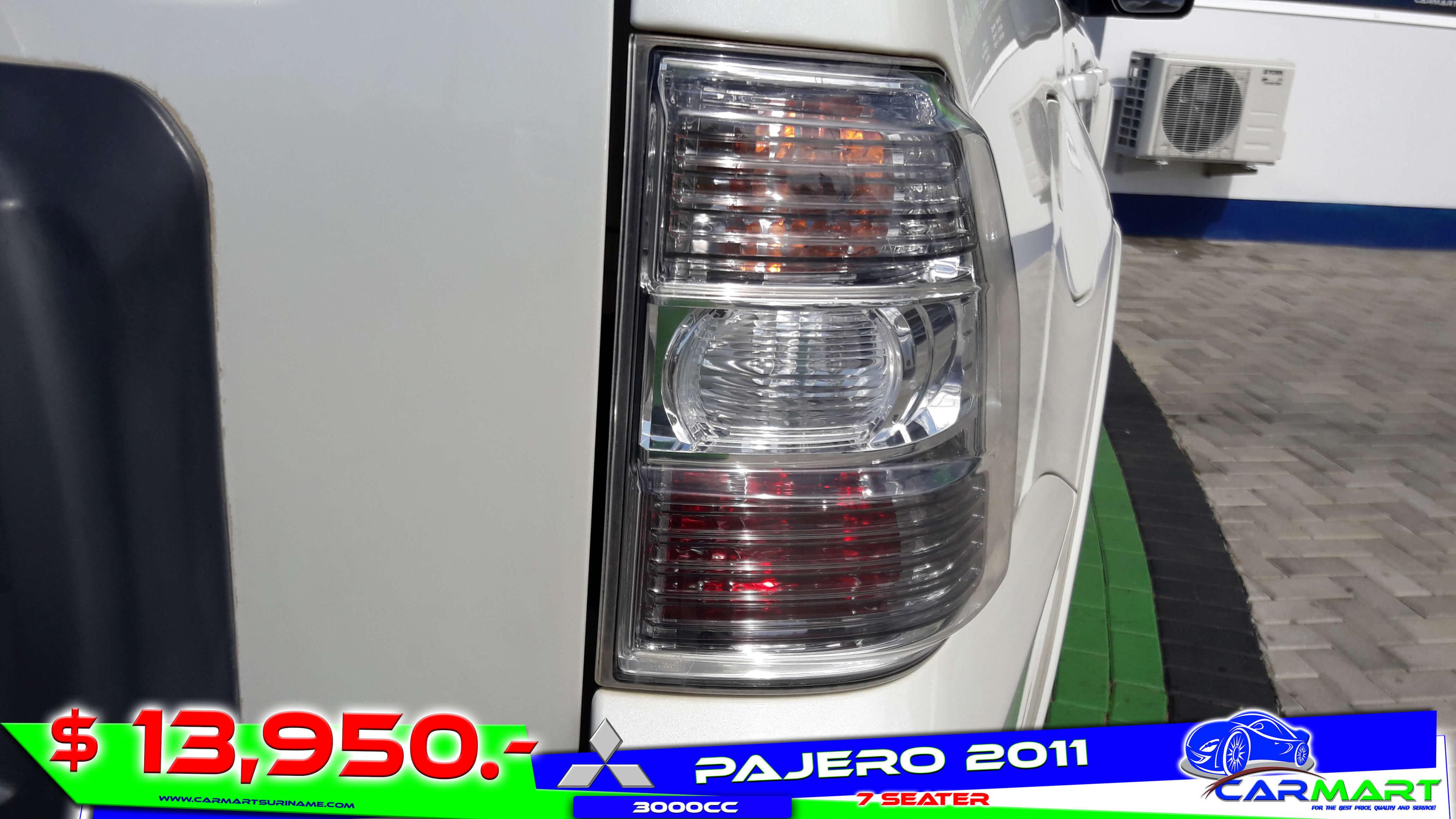 Mitsubishi Pajero 2011 Carmart Suriname
